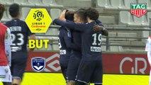 But Josh MAJA (27ème) / Stade de Reims - Girondins de Bordeaux - (1-1) - (REIMS-GdB) / 2019-20