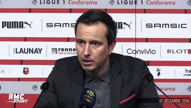 """Rennes - ASSE : """"Un résultat significatif"""" souligne Stephan (et ne pense pas à la pression)"""