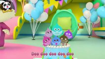 Wheels on the Bus - Bath Song, Playground Song - Nursery Rhymes - Kids Songs - For Kids - BabyBus