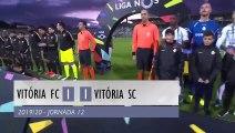 Highlights | Resumo: Vitória FC 1-1 Vitória SC (Liga 19/20 #12)