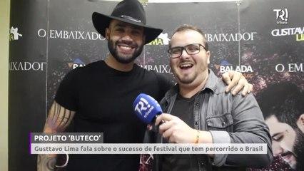 Gusttavo Lima fala sobre sucesso de 'Buteco' que tem percorrido o Brasil