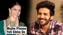 Deepika Padukone Has A Humble REQUEST From Kartik Aaryan | Find Out What