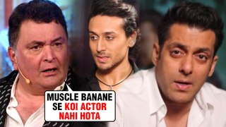 Rishi Kapoor TAUNTS Salman Khan And Tiger Shroff | Supports Ranveer Singh And Ranbir Kapoor