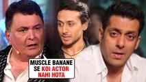 Rishi Kapoor TAUNTS Salman Khan And Tiger Shroff | Supports Ranveer Singh And Ranbir Kapoor