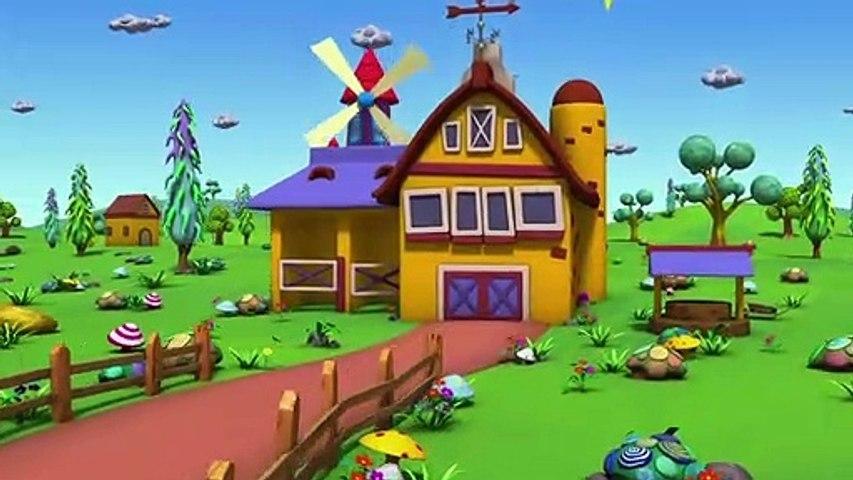 Old MacDonald Had A Farm - MooMoo & The Barn House Family #NurseryRhymes