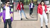 Kartik Aaryan Teaching Dance To Deepika At Airport Is Super Crazy