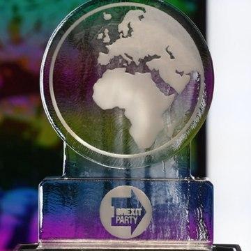 Bei Klimadebatte: Schmelzender Eisblock statt Boris Johnson im TV
