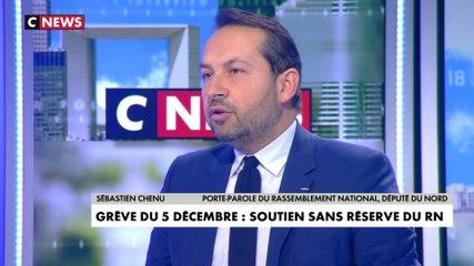 Sebastien Chenu - CNews lundi 2 décembre 2019