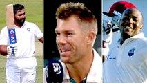 Warner says Rohit Sharma will break the lara's 400 runs record