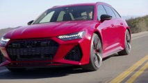 Audi RS 6 in Tango Red Driving Video