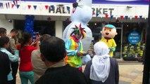 kahramanmaraş da   açılış şişme maskot ve palyaço  HAYALİM ORGANİZASYON 5435352526