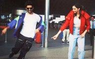 Kartik Aaryan Teaches Deepika Padukone The Dheeme Dheeme Hook Step At The Airport; Duo Have A Blast
