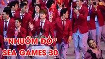Lễ khai mạc SEA Games 30 nhuộm đỏ dàn trai xinh, gái đẹp của Đoàn TTVN | NEXT SPORTS