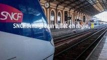SNCF : malgré un billet en règle, il reçoit une amende de 111 euros