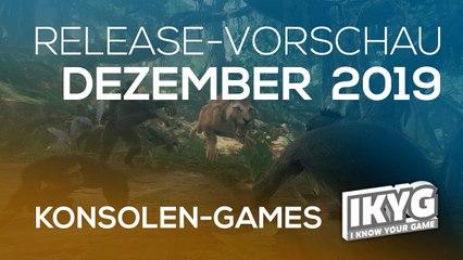 Games-Release-Vorschau - Dezember 2019 - Konsole