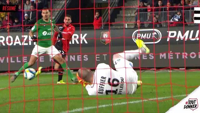 J15. Stade Rennais F.C. / Saint-Etienne : résumé