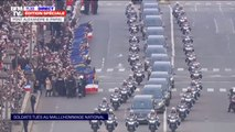 Les images de l'hommage rendu aux 13 militaires français tués au Mali sur le pont Alexandre III à Paris