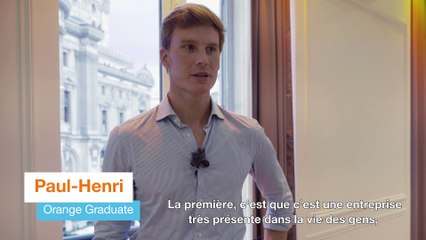Paul-Henry, Orange Graduate