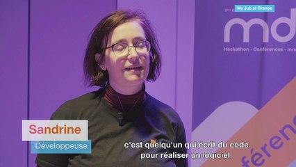 Sandrine, développeuse chez Orange