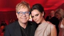 Victoria Beckham salutes Elton John on World AIDS Day