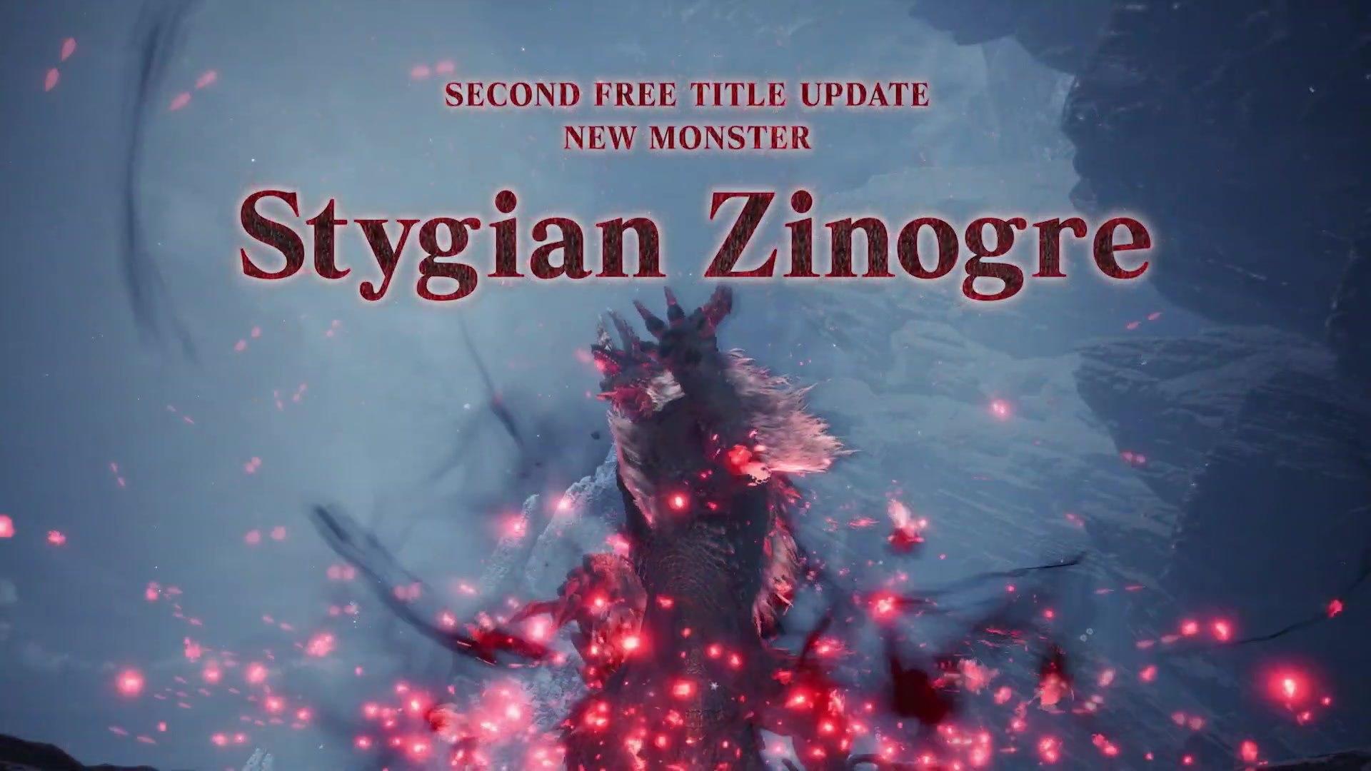 monster hunter stygian zinogre wallpaper