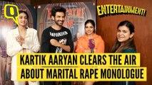 Kartik, Bhumi and Ananya on 'pati Patni Aur Woh'