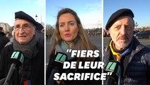 Les cercueils des 13 militaires morts au Mali sont arrivés sous les applaudissements aux Invalides