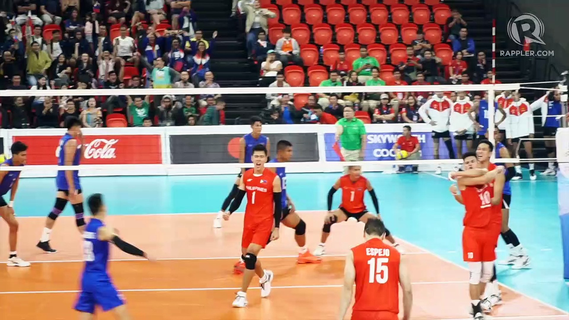 Highlights Philippines Vs Cambodia Sea Games 2019 Men S Volleyball Video Dailymotion