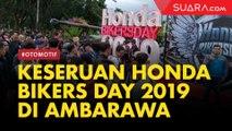 Keseruan Honda Bikers Day 2019 di Ambarawa Jawa Tengah