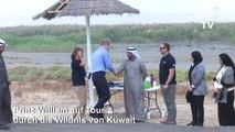 Prinz William in Kuwaits Wildnis