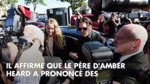 Johnny Depp menacé de mort par le père d'Amber Heard, un ex-employé balance