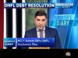 NCLT admits RBI's DHFL insolvency plea