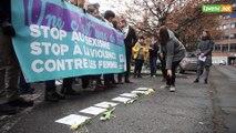 PTB: manifestation contre le féminicide