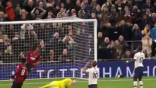 Tottenham – Bournemouth (3-2) - Maç Özeti - Premier League 2019/20
