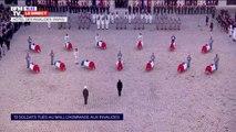 """Emmanuel Macron fait """"chevalier de la Légion d'honneur"""" les 13 soldats français tués au Mali"""