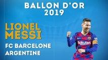 Lionel Messi désigné Ballon d'Or 2019 !