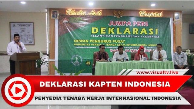 Deklarasi Pengurus dan Rapat Kerja Nasional Organisasi Kapten Indonesia 2019