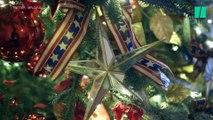 À la Maison Blanche, le thème de ce Noël est le patriotisme