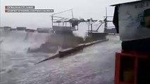 Catbalogan shoreline before #TisoyPH makes landfall