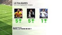Pour qui la passe de six ? Messi ou Ronaldo .