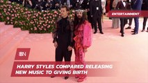 Harry Styles And His View On Releasing Music