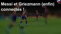 Messi et Griezmann (enfin) connectés !