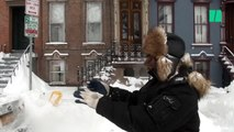 Une tempête de neige a paralysé le nord des États-Unis