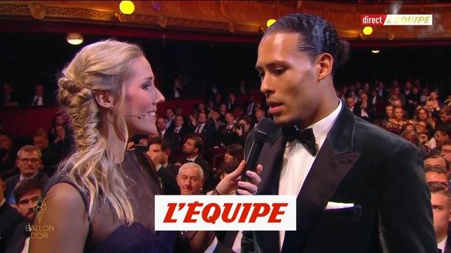 Van Dijk «Fier d'être là» - Foot - Ballon d'Or