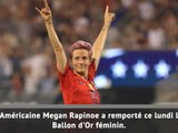 Ballon d'Or - Megan Rapinoe sacrée !