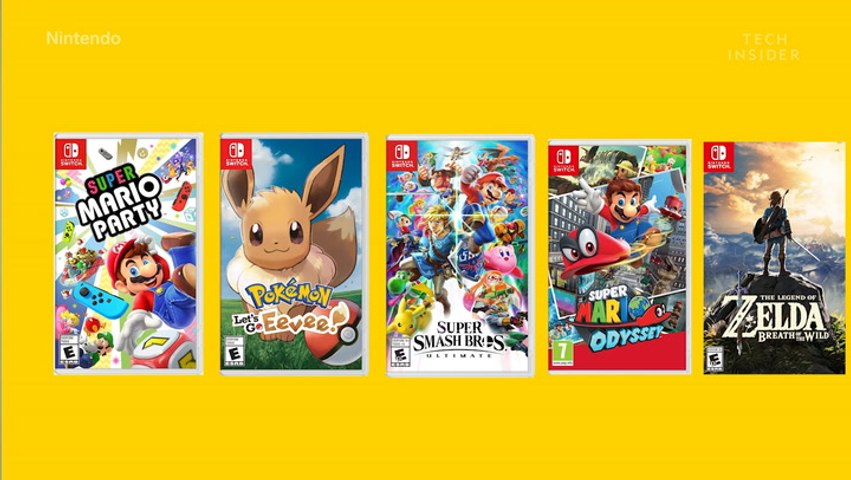 Nintendo Switch is the fastest-selling console of the current generation — here's why Nintendo is dominating video games