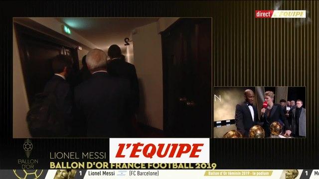 Drogba «Je me suis senti comme sur un terrain de foot» - Foot - Ballon d'Or
