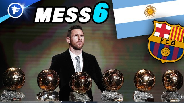 Lionel Messi remporte le Ballon d'Or 2019