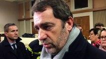 Éboulement aux Mées : Christophe Castaner venu en soutien aux élus et aux pompiers