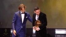 Messi wins a record sixth Ballon d'Or